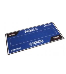 Tapis environnemental Yamaha Racing 200x100cm bleu