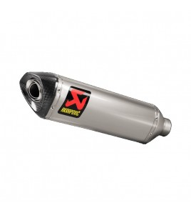 Silencieux titane pour demi-ligne Akrapovic Yamaha YZF-R1/R1M 15-20'