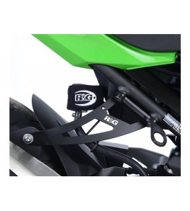 Patte de fixation silencieux Kawasaki Ninja 400 18- | R&G Racing