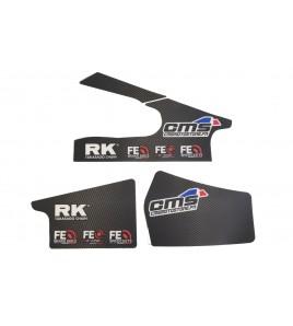 Ensemble stikers de protection cadre et bras oscillant Yamaha YZF-R1 15-