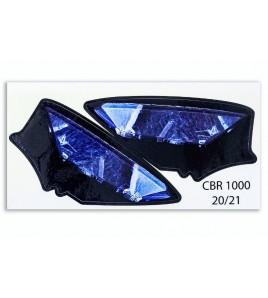 Paire de stickers de phares Honda CBR1000RR-R/SP 20-