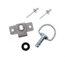 PACK vis dzus anneau 1/4 de tour + attache a riveter