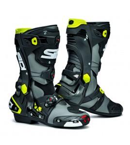 Bottes Sidi Rex Racing gris/jaune