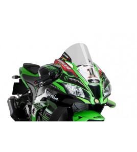 Bulle racing haute Kawasaki ZX10R 16-20 | Puig R-Racer
