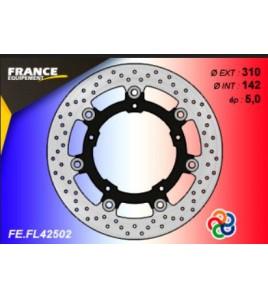 Disque de frein avant racing Kawasaki Ninja 400 18' | France Equipement
