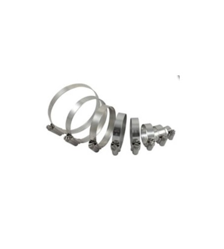 Kit colliers pour durites de radiateur racing silicone Yamaha YZF-R1 système Bypass | SAMCO Sport