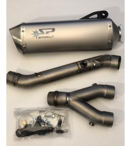 Demi ligne Spark Titane Yamaha YZF-R1/R1M