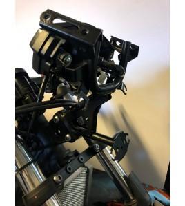 Support tableur de bord alu Yamaha YZF-R3 14-18'