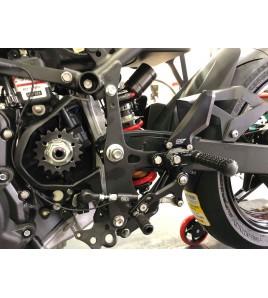 Commandes reculées ARP Kawasaki Ninja 400 18-