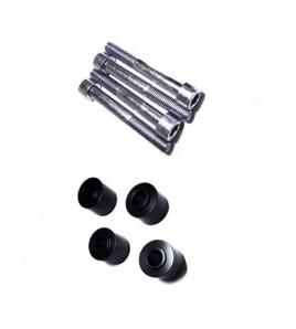 Kit cales & vis fixation pour étriers Brembo GP4-RS / GP4-RX