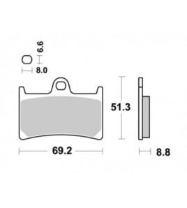 Plaquettes AP RACING Yamaha YZF-R1/R6 | ENDURANCE